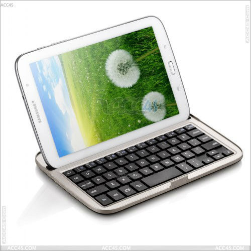 Hot sell cheap bluetooth keyboard case for Samsung Galaxy Note 8.0 N5100 P-SAMNOTE80BLUEKB002