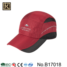JAKIJAYI caps in china factories fashion wholesale cheap knitted pattern outdoor sport spring autumn baseball cap custom