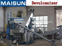 Devulcanizer-regenerate rubber-waste tyre recycling machine with capacity 14-22 tons a day