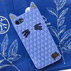 Cartoon Cat Cell Phone Case Mobile Phone Silicone Cat Case For iPhone 7