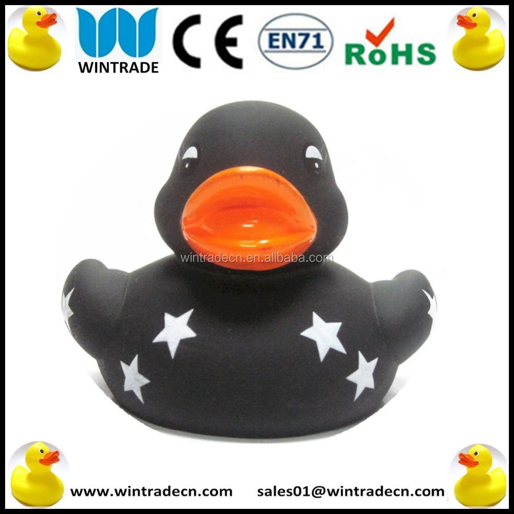 6cm bath floating black duck rubber duck buy bath floating duck toy floating bathroom toy