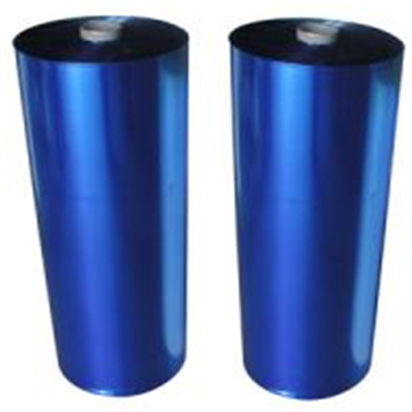 hot blue plastic PE film for pallet