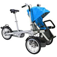 Blue Mother Baby/infant/child/children Stroller Bike/Bicycle for Shopping,Cycling/traveling