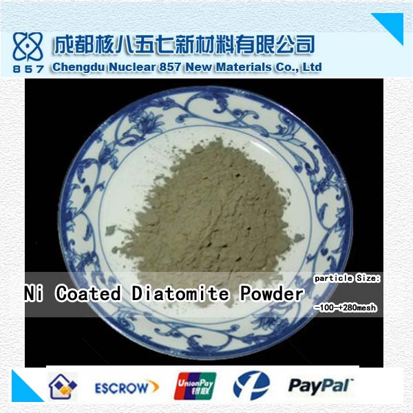 gold supplier of Ni Coated diatomite
