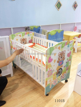 Import Furniture from China Kids bed Baby Cribs for Home #1101B-2