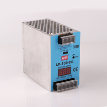 LP-300-24 led Digital display 300W 24v DC din rail power supply