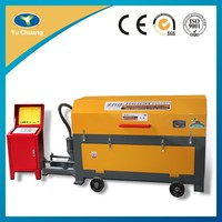 Automatic coiled wire steel bar straightening and cutting machine