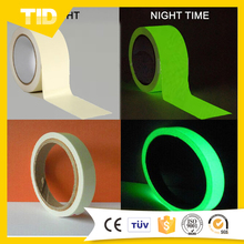 Glow In Dark Luminescent Vinyl Film/Photoluminescent Tape For Safety Signage
