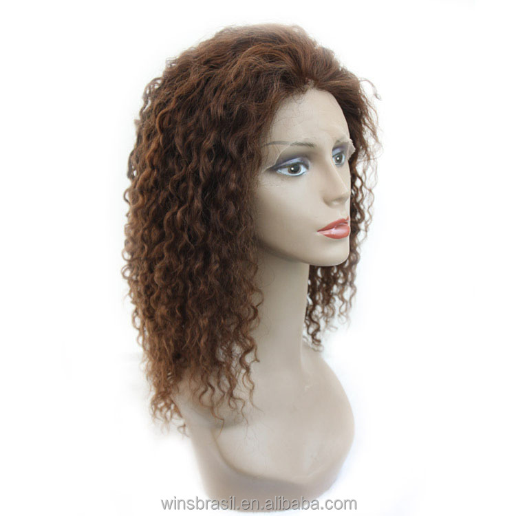 Wholesale 7A curly human hair wigs for black women afro kinky human hair wig