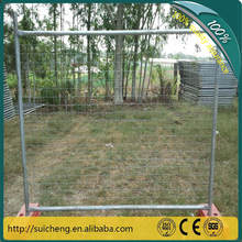 Guangzhou Factory Hot Dipped Galvanized Temporary Fence/ Australia Standard Temporary Fence Panels