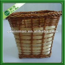 rattan household storage basket for food