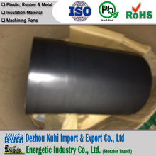 Black Extruded PTFE rod with chemical resistant