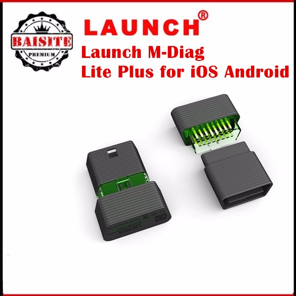 2017 New Arrival original launch m-diag Lite Plus for iOS Android Diagnostic-Tool launch mdiag with good feedback hot sales