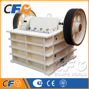 Best Performance AC Motor Concrete Jaw Crusher Made in China