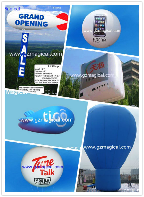 sky floating balloon inflatable helium balloon inflatable advertising