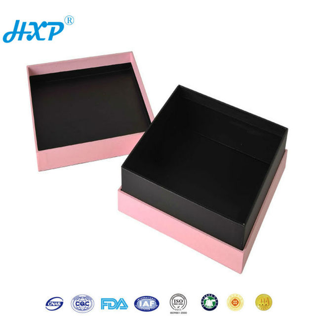 Cardboard box 1-Layer SBB Black design empty western branded jewelry boxes