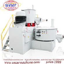 automatic PP PE PVC mixing machine hot cold mixer