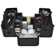 Aluminum Beauty Box Cosmetic Case For Cosmetics Collection and Professional nail technician