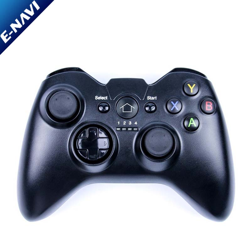 C9 Wireless Game Controller Enavi Vibration Wireless Gamepad with Joystick for Phones/ PS3/PC