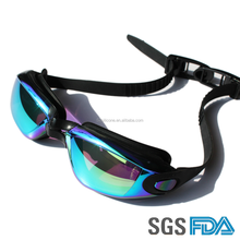 Large lens Swimming goggles Swimming glasses Customized colors for adults and kids
