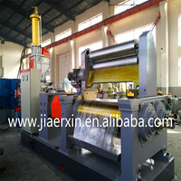 Dalian open type two roll rubber mixing mill machine