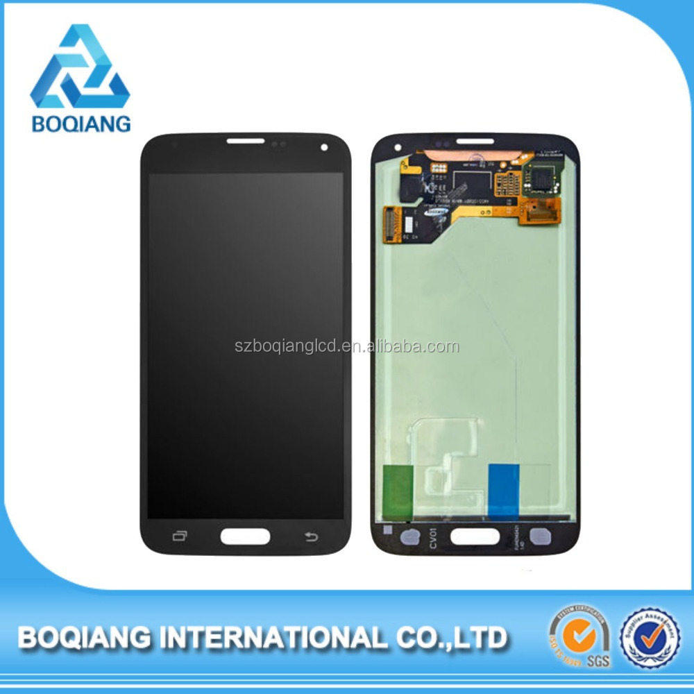 Good quality touch assembly replacement lcd screen for samsung galaxy s5