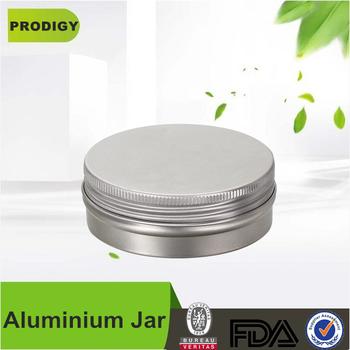 cosmetic aluminium jar for hair wax cream