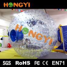 Custom giant tumbler transparent inflatable bumper ball Rolling inflatable ball on water For outdoor fun exercise