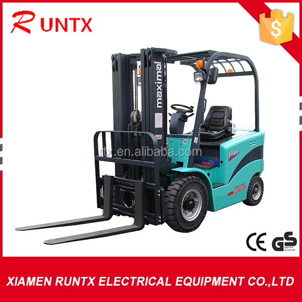 New condition battery power four-wheel drive forklift truck
