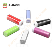 Rechargerable colorful power bank , personalized 2200mAh powerbank