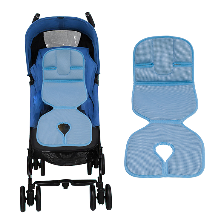 Wellcool washable 3d air mesh fabric baby stroller liner/stroller cushion