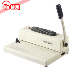 NO MOQ spiral plastic book binder rings binding machine price from factory