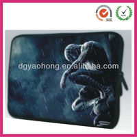 Creative caricature neoprene laptop bags 2013 (dongguan factory)