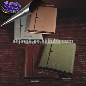 leather PU notebook and pen gift set