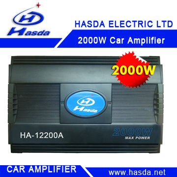 Cheap car amplifier , 2000w ,can choise 12V &24V