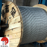 Galvanized Steel Wire Rope for Highway Guardrail Cable