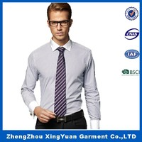 apparel manufacturers OEM Plain waffle knit long sleeve shirt