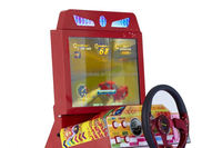 Newest Design OutRun arcade simulator horse racing game machine
