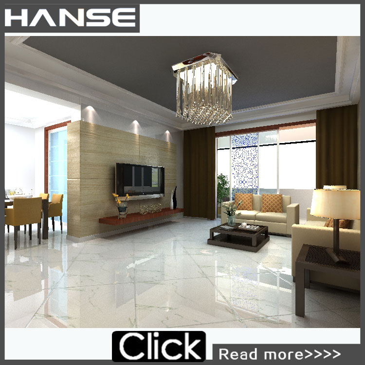 white and grey floor tiles/snow white marble tiles/ceramic interior tile HS615GN