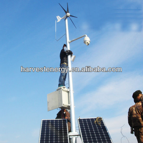 2014 new model 3/5 blades integrated MPPT controller small 400w mini wind power generator