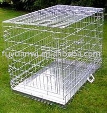 Pvc coated dog cages