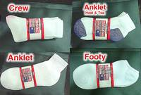 Stock Lot Cotton Sports Socks
