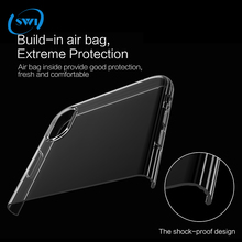 2018 trending products ultra thin 0.5mm TPU anti-shock soft case for iphone X transparent phone cover