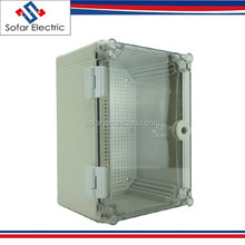 300x200x160mm IP65 Transparent Waterproof Plastic Enclosures