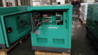 30kva silent diesel generator set powered 4JB1T1 engine