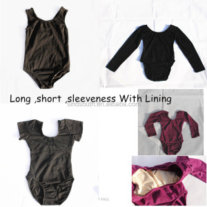 Cotton wholesale girls dance ballet leotards for kids