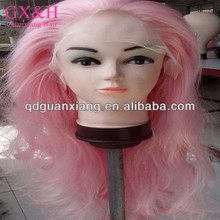 Crazy color synthetic lace front wig
