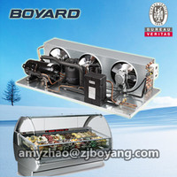 cooling unit for ice cream fridge commercial deep freezer mini freezer mini refrigerator condenser