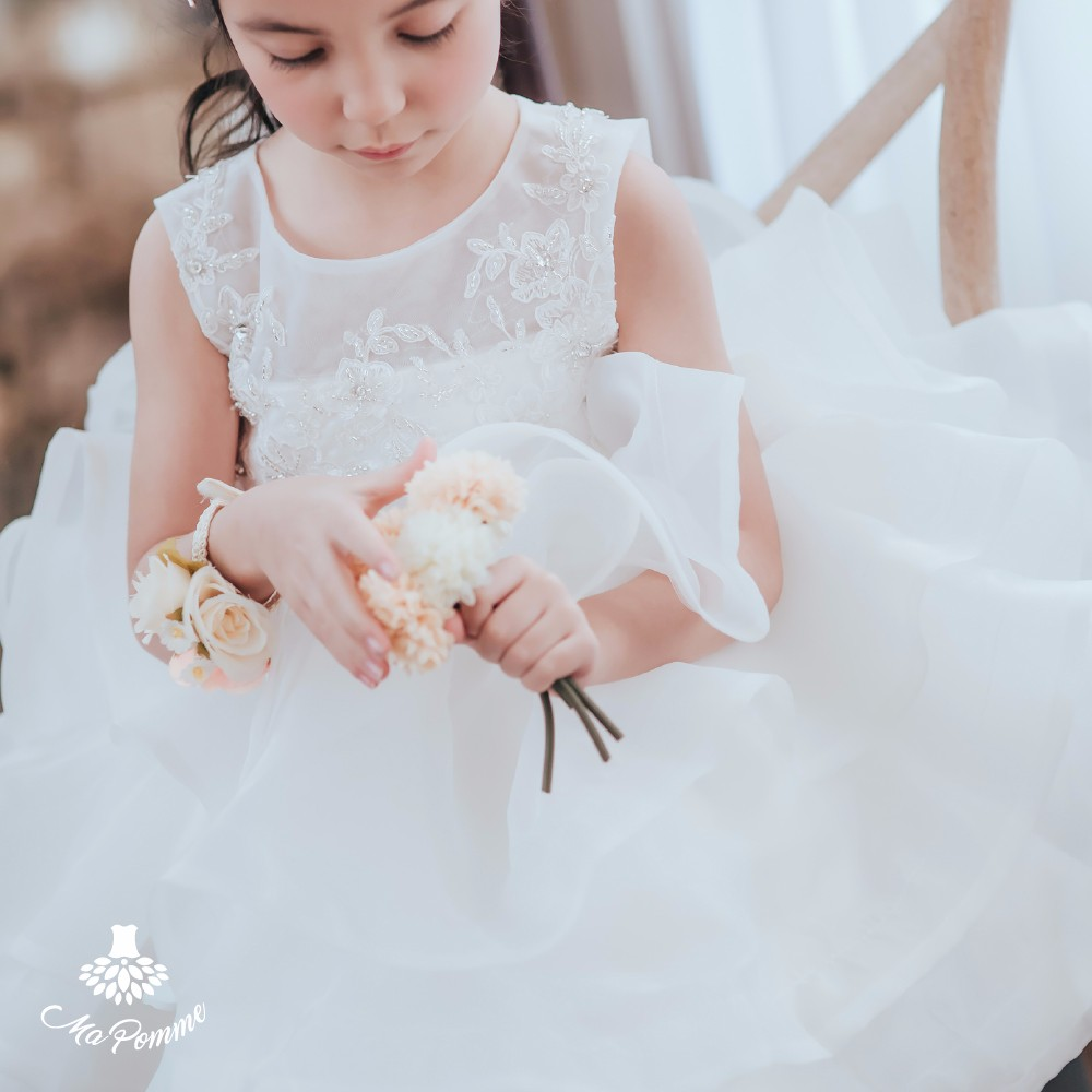 Wonderful Fancy Wedding Frock Designs For Small Girls