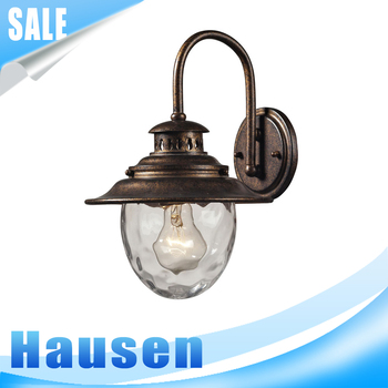 Unique European gate light bulbs outdoor hanging lights